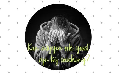 Spreken is zilver, zwijgen is goud tijdens coaching?